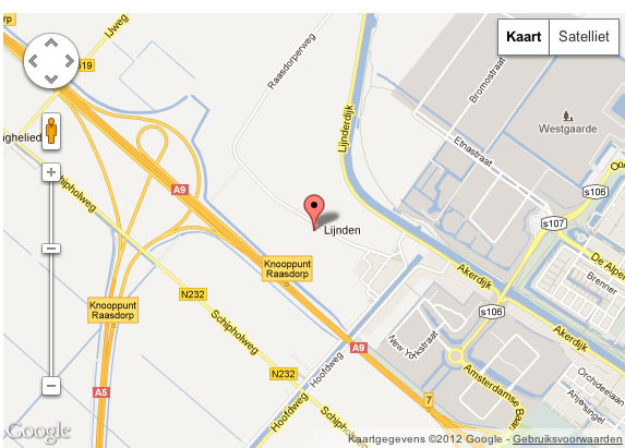 Google King Parking Schiphol locatie
